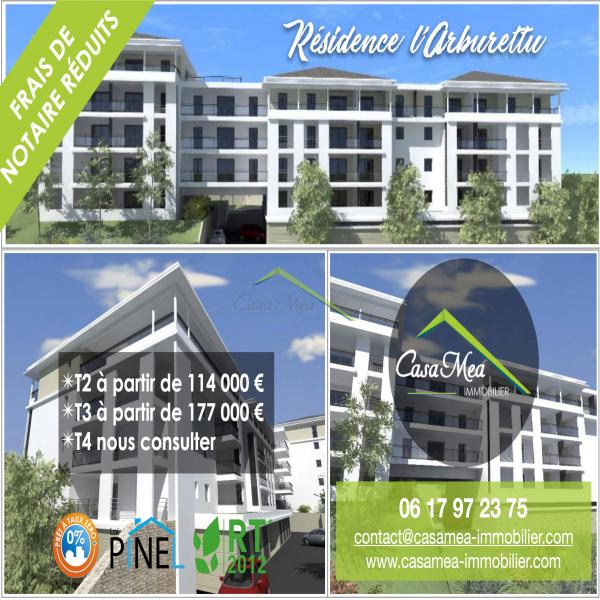 Programme neuf Appartement Bastia 20600